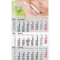 3 Monats Wandkalender