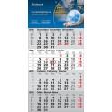 4 Monats-Wandkalender (mehrsprachig)