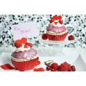 Himbeer Romance Cupcake