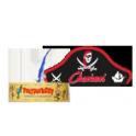 indianerstirnbänder und Piratencaps