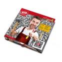 Pizza-Karton mit Gutscheinaktion