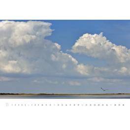 Wattenmeer-Wand-Kalender