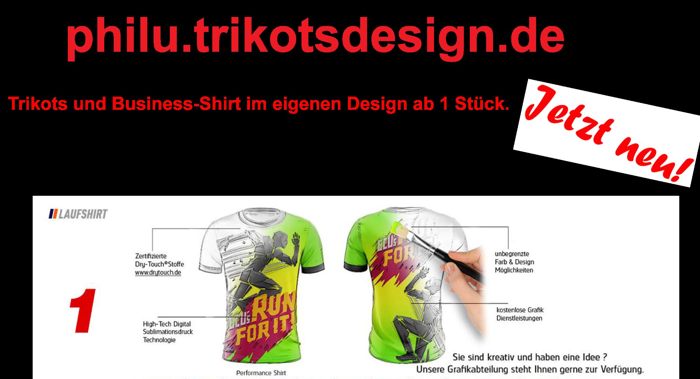 Trikots-/Shirts selbst gestalten