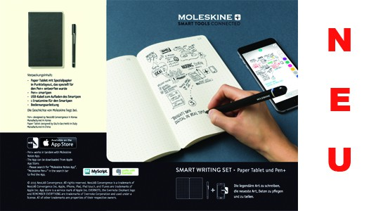 Moleskine Smart-Writing-Set
