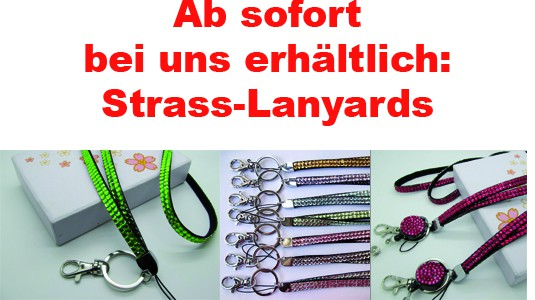 Strass-Lanyards